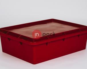 Plastikinė dėžė - susimaunančios viena į kitą P40-161
