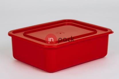 Plastikinė dėžė - susimaunančios viena į kitą P42-115