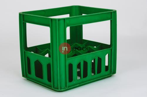 Plastikinė dėžė tarai - vynui, šampanui, degtinei P75