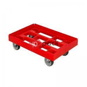 Plastikinis vežimėlis dėžėms - DE-Nr.1