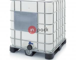 Plastikinis konteineris AR-IBC 1000 K 225.80