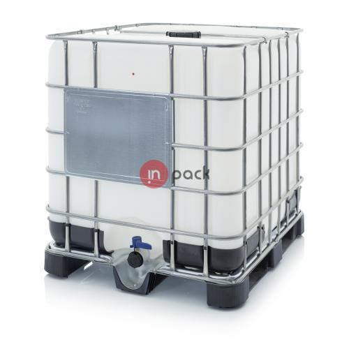 Plastikinis konteineris AR-IBC 1000 K 150.50-UN