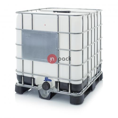 Plastikinis konteineris AR-IBC 1000 K 225.80-UN